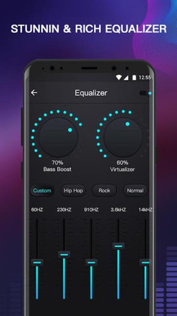 Free Music - MP3 Player, Equalizer & Bass Booster screenshot 9