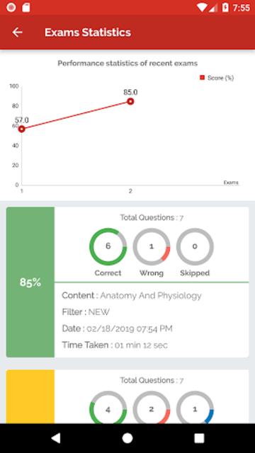 CMA (AAMA) Practice Test 2019 screenshot 6