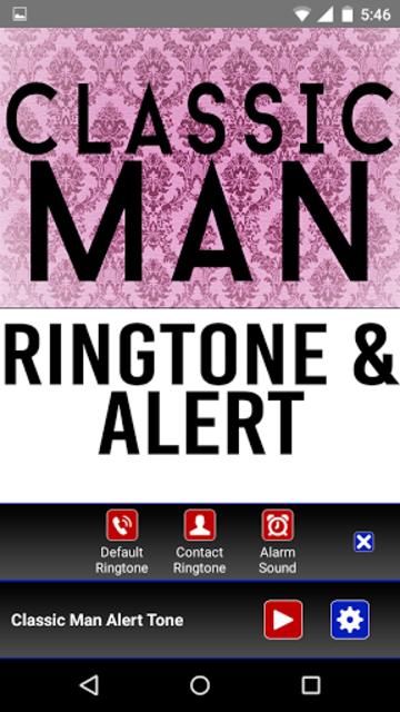 Classic Man Ringtone and Alert screenshot 2