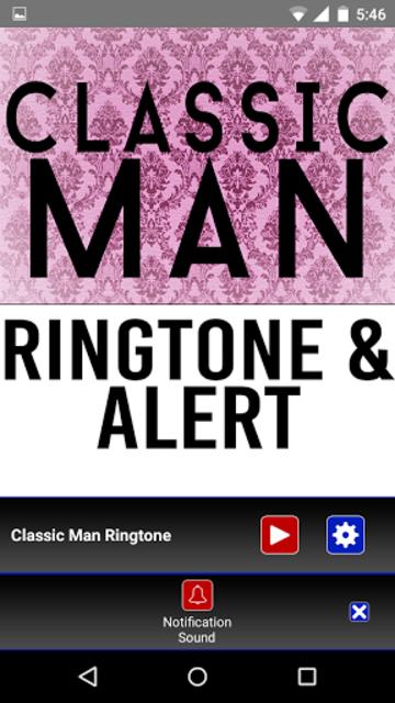 Classic Man Ringtone and Alert screenshot 3