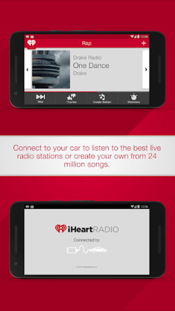 iHeartRadio for Auto screenshot 1
