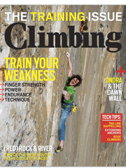 Climbing Magazine screenshot 6