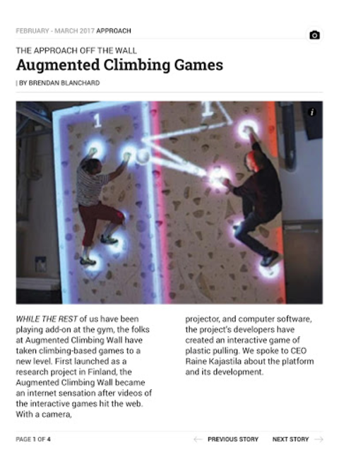 Climbing Magazine screenshot 7