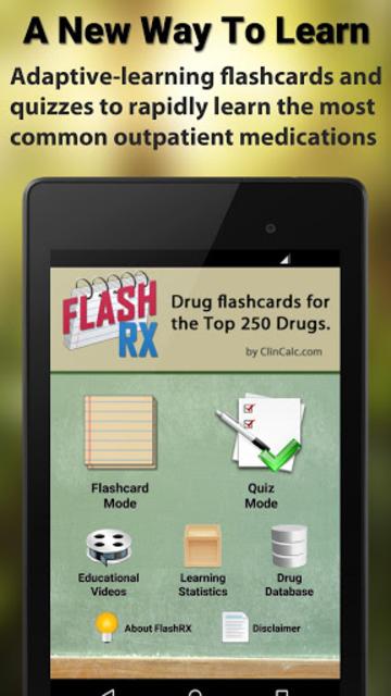 FlashRX - Top 250 Drugs screenshot 6