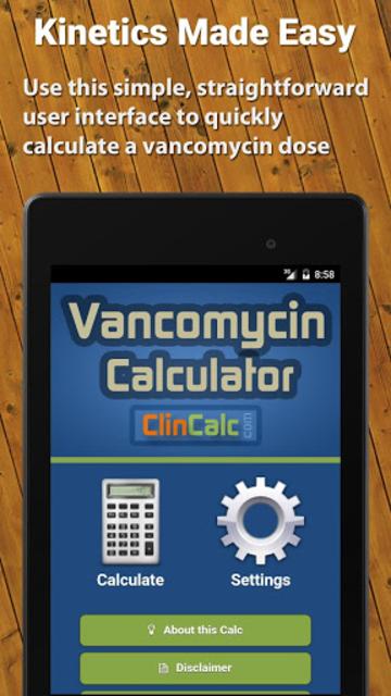 Vancomycin Calculator ClinCalc screenshot 11
