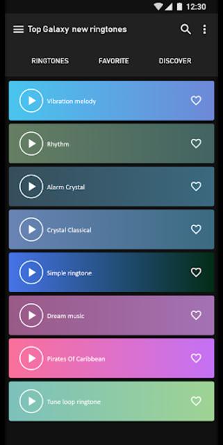 Top Samsung Galaxy  new ringtones screenshot 1