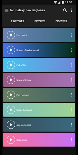 Top Samsung Galaxy  new ringtones screenshot 2