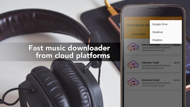 Free Music Download from Cloud Services Offline screenshot 3
