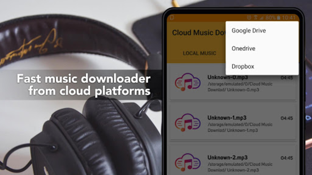 Free Music Download from Cloud Services Offline screenshot 6