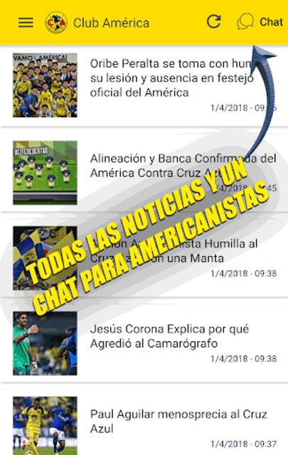 Noticias del Club América screenshot 1