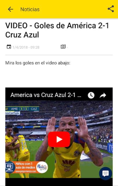 Noticias del Club América screenshot 2