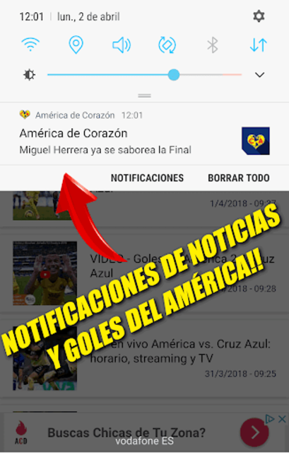 Noticias del Club América screenshot 3