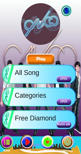 CNCO piano tiles screenshot 1