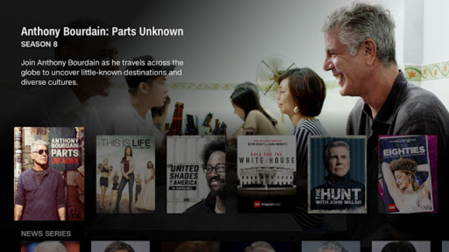 CNNgo for Android TV screenshot 3
