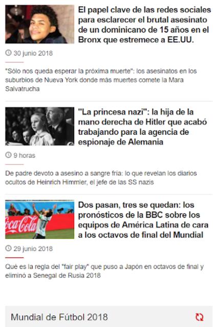 CNN en Español + Others screenshot 1
