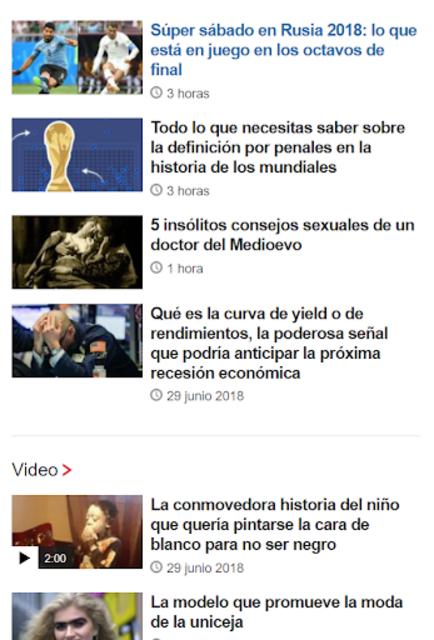 CNN en Español + Others screenshot 8