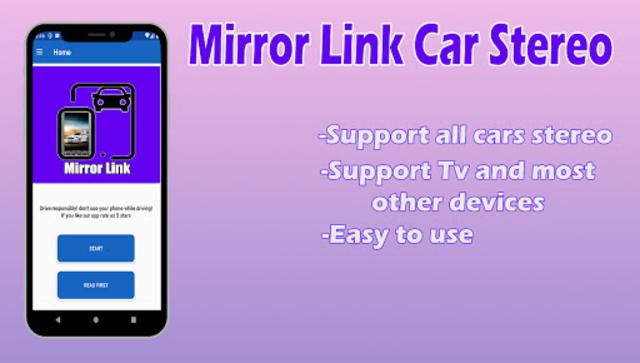 Mirror Link Car Stereo screenshot 1