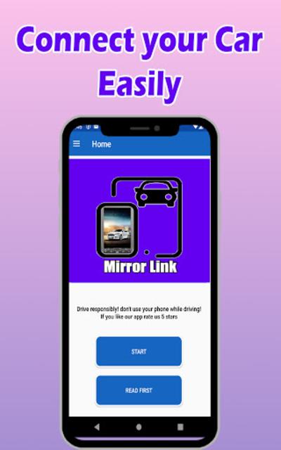 Mirror Link Car Stereo screenshot 2