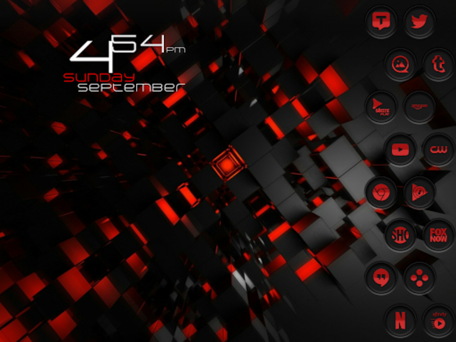 Jaron XE Red Icon Pack screenshot 14