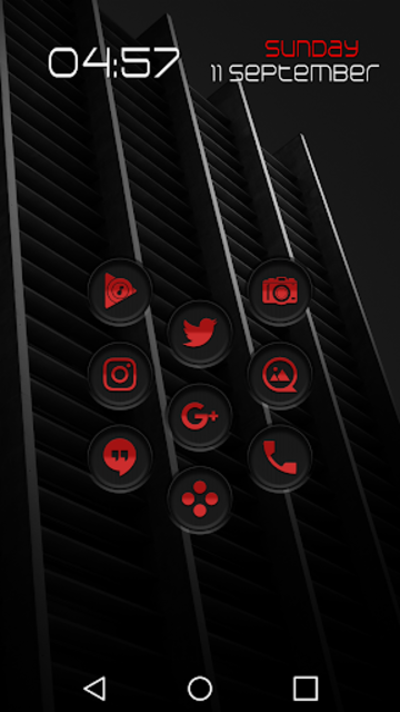 Jaron XE Red Icon Pack screenshot 2