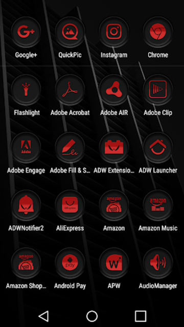 Jaron XE Red Icon Pack screenshot 3