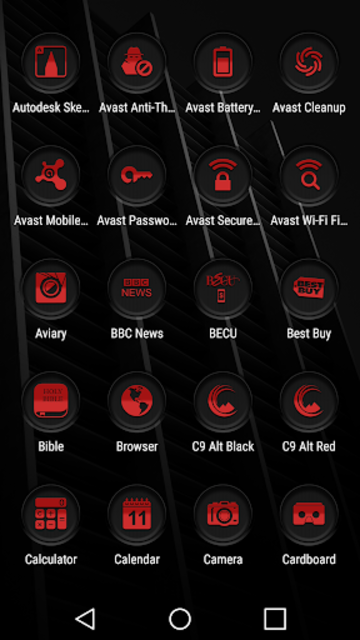 Jaron XE Red Icon Pack screenshot 4