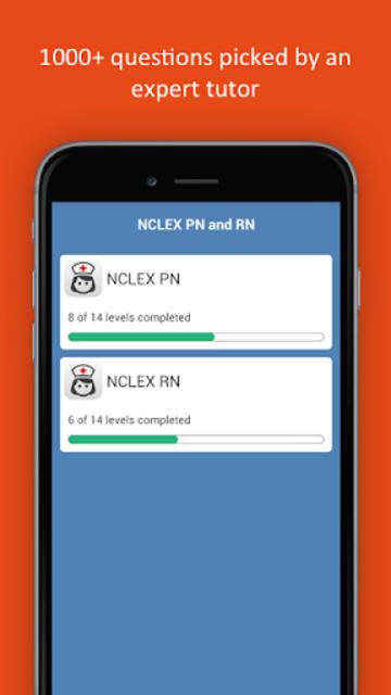NCLEX Practice Test (PN&RN) 2018 Edition screenshot 1