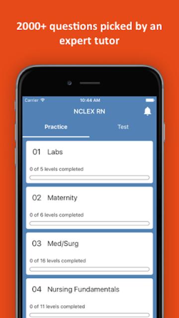 NCLEX RN Practice Test screenshot 1