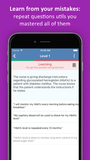 NCLEX RN Practice Test screenshot 3