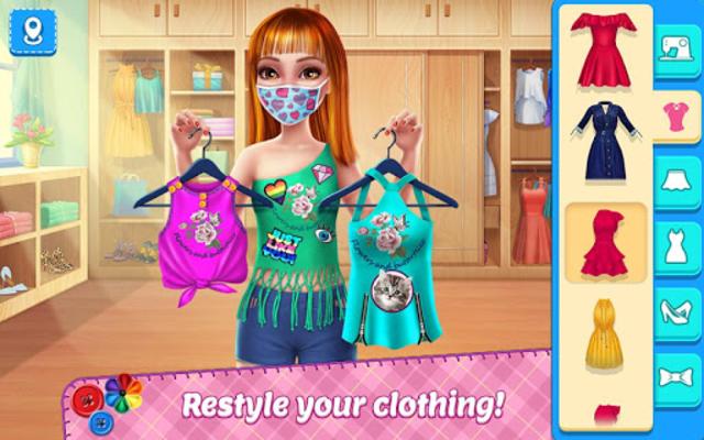 DIY Fashion Star - Design Hacks Clothing Game screenshot 13