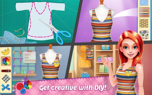 DIY Fashion Star - Design Hacks Clothing Game screenshot 14