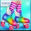 Roller Skating Girls - Dance on Wheels