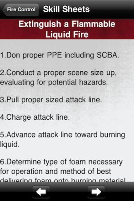 Firefighter Pocketbook screenshot 3