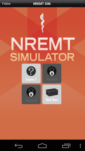 NREMT Simulator - Exam Prep screenshot 1