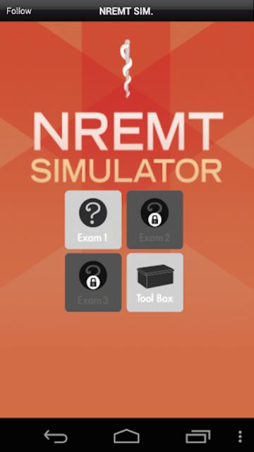 NREMT Simulator - Exam Prep screenshot 1