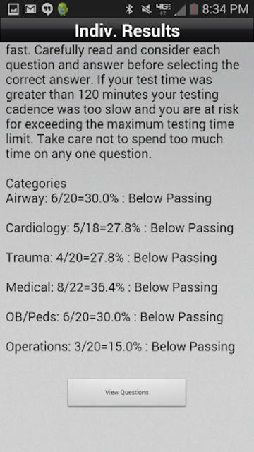 NREMT Simulator - Exam Prep screenshot 3