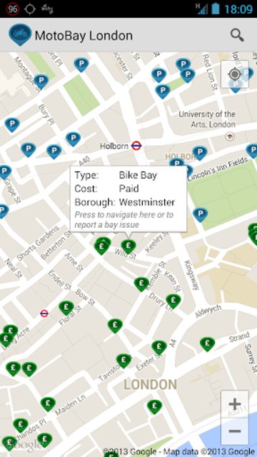 MotoBay Parking London screenshot 2