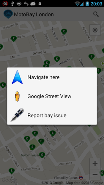 MotoBay Parking London screenshot 4