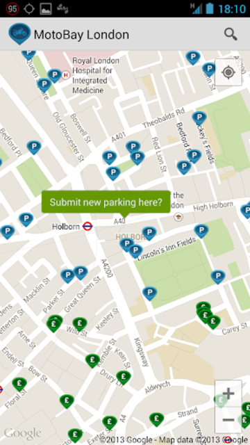 MotoBay Parking London screenshot 6