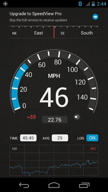 SpeedView: GPS Speedometer screenshot 1