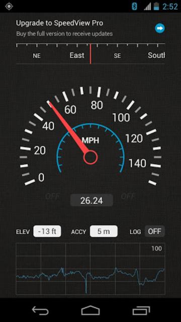 SpeedView: GPS Speedometer screenshot 2