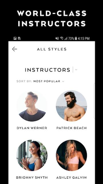 Alo Moves - Yoga Classes screenshot 2