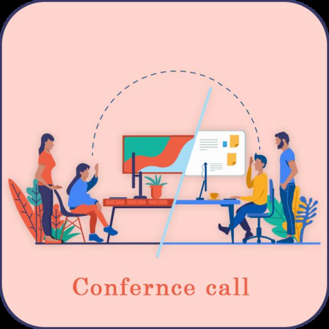 Confarance Call screenshot 1