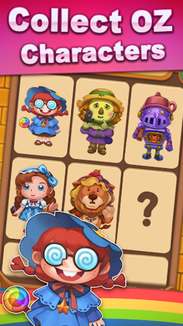 Wicked OZ Puzzle (Match 3) screenshot 5
