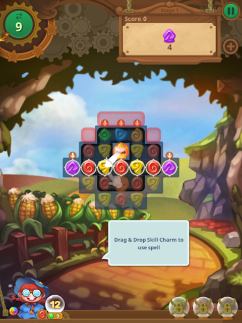 Wicked OZ Puzzle (Match 3) screenshot 9