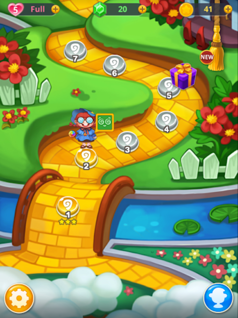 Wicked OZ Puzzle (Match 3) screenshot 10