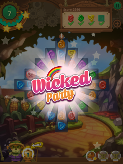 Wicked OZ Puzzle (Match 3) screenshot 13