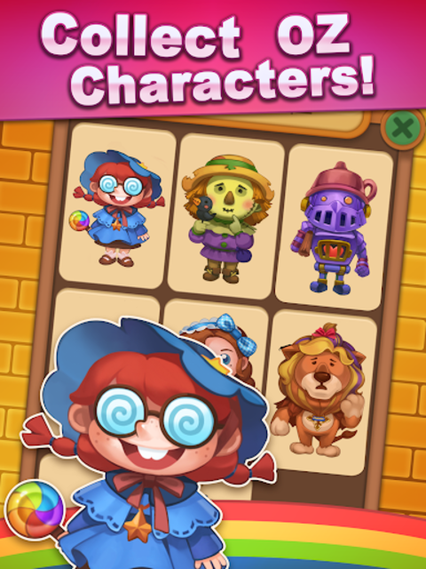 Wicked OZ Puzzle (Match 3) screenshot 15