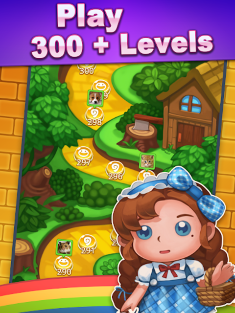Wicked OZ Puzzle (Match 3) screenshot 24