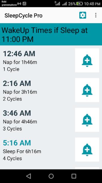 Sleep Cycle Calculator (Pro) screenshot 15